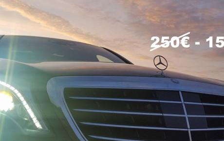 Mercedes S class rent