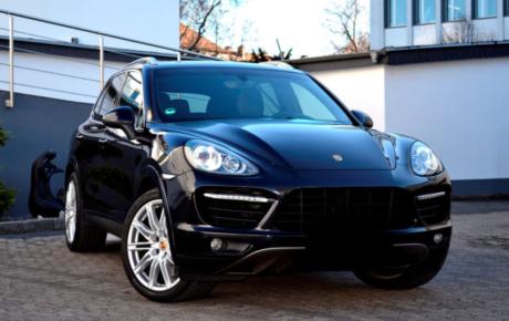 Porsche Cayenne luksusauto rent