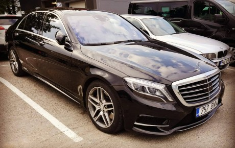Mercedes S klass rent