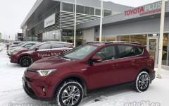 Juhiga autorent Toyota Rav4 2018