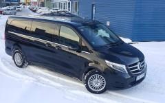 Luksusauto Mercedes-Benz V Class autorent 2020