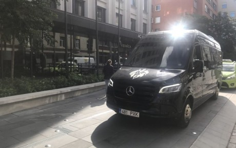 VIP bussiga LÄTIS