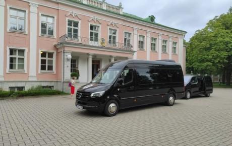 Luksusbusside rent juhiga/juhita