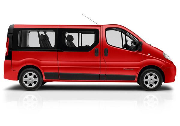 Väikebuss Renault trafic 2012