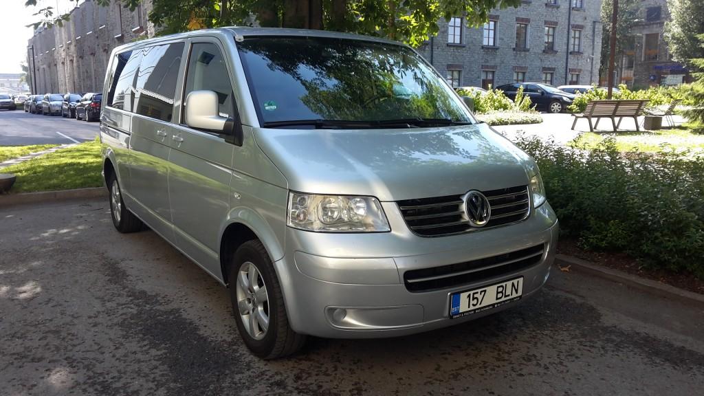 bussirent VW Caravelle