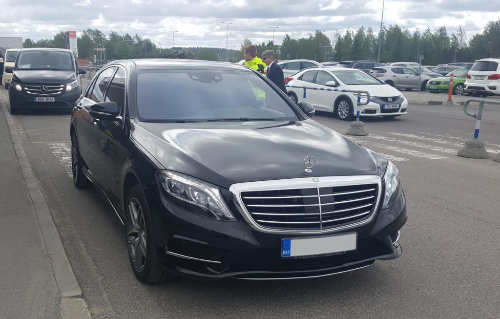 Mercedes s klass rent