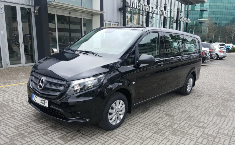 Uus Mercedes Vito 2018 long